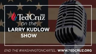 Ted Cruz Discusses His Tax Plan and More on the Larry Kudlow Show