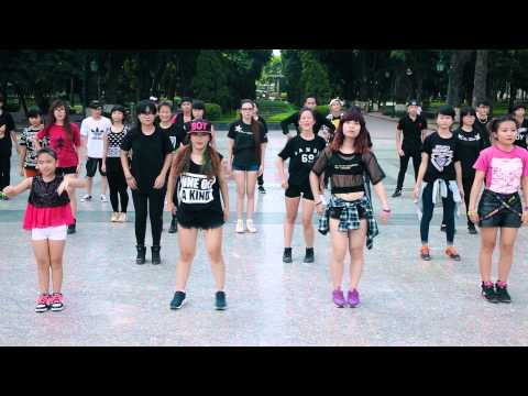 [yg Lovers Crew][yg Family Fc Vietnam]project Flashmob welcome 2ne1 Back To Vietnam video