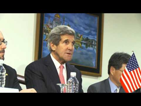 Secretary Kerry Delivers Remarks With Japanese Foreign Minister Kishida and ROK Foreign Minister Yun