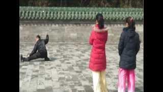 Kung Fu Master Baiters Episode 1, Part 1: Baiting Master Ma's Qi Style Tong Bei Quan