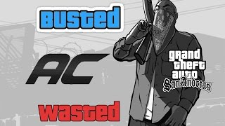 GTA 5 Busted & Wasted Screen for GTA San Andreas