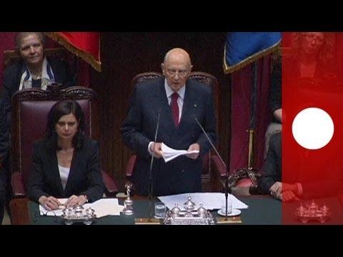 Italia : Giorgio Napolitano già operativo