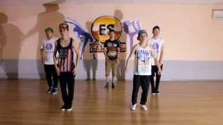 LMFAO - Party Rock Anthem ft. Lauren Bennett, GoonRock COVER GALYM&AIGERIM