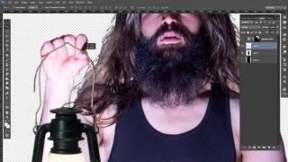 quick video edit  film photo shoot composite in photoshop cc