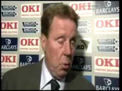 Harry Redknapp Swearing Out Loud