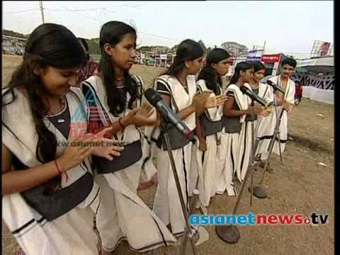 Thuyilunarthu Pattu: Rajas High School, Kasargod,  Kerala School Kalolsavam 2014 video