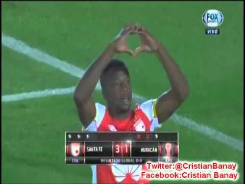 Santa Fe 0 Huracan 0 (3-1) (CX12 Radio Oriental) Copa Sudamericana 2015