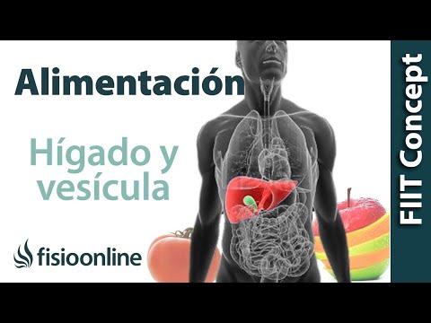 Alimentación, nutrición y limpieza para disfunción de hígado y vesícula biliar.
