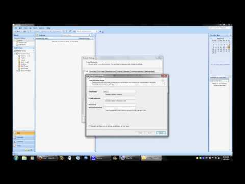 Instructionals: Outlook 2007 - Adding a Gmail Account with the Wizard
