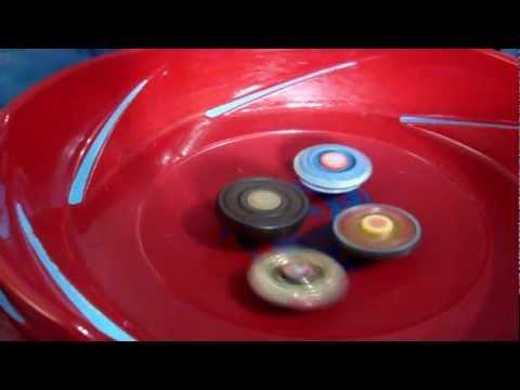 Beyblade de Rolamento x Beyblade Metal Fusion [HD]