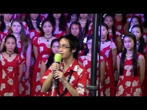 "Hawaii Baptist Academy choirs: ""For Such a Time as This"""
