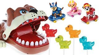 Best Learning Colors With Paw Patrol Family Finger Song Dog Dentist Eats Lollipops | Fizzy Fun Toys