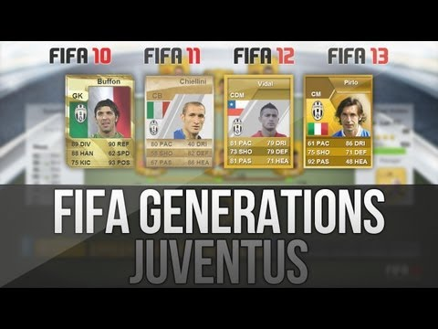 FIFA Generations   Best EVER Juventus Players! (Fifa 10-13)