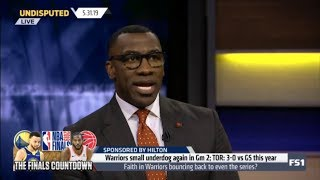 Undisputed | Shannon Sharpe DEBATE: Faith in Warriors bouncing back to even the series?