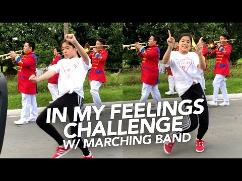 Download Lagu  In My Feelings Challenge With Marching Band | Ranz and Niana Mp3 Free