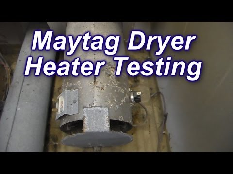 Maytag Dryer Not Heating - How to Test the Heater and Thermostats