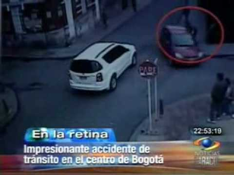 ACCIDENTE DE TRANSITO EN BOGOTÁ