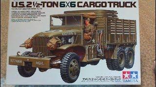 TAMIYA 1/35 Scale U.S 2 1/2 Ton 6X6 Cargo Truck Build Update 2