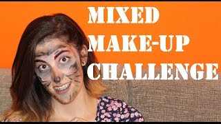 Mixed Make Up Challenge