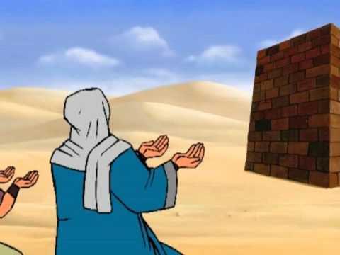 Building of holy Kaaba Ka'aba | Islamic Stories by cartoon