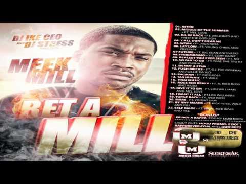 Meek Mill Ft. TI Rick Ross Vado - Rose Red Remix - (Bet A Mill) Mixtape