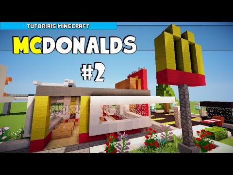 Minecraft: Como Construir um McDonalds Parte 2