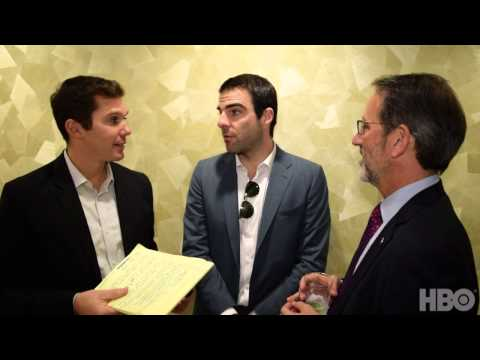 Real Time with Bill Maher: Backstage with Zachary Quinto and Jay Famiglietti (HBO)