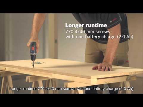 Bosch Cordless Tools   GSR 10.8 V-EC HX Professional   GSR 10.8 V-EC Professional