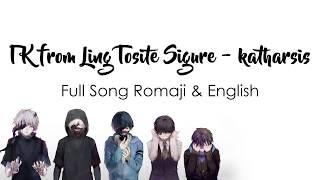 Tokyo Ghoul Re Season 2 Op Full Katharsis English Romaji