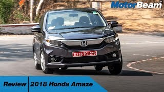 2018 Honda Amaze Review - Most Detailed | MotorBeam