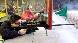 BARRETT 98B .338 Lapua Rifle