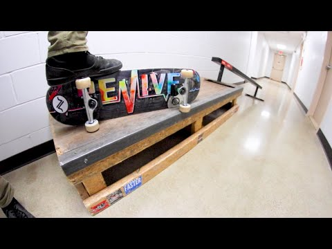 Skatepark In The Hallway! / Warehouse Wednesday!