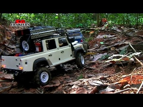 Defender 110 pickup chevy Hummer Tim Cameron showtime sand scorcher unimog Offroad Adventures