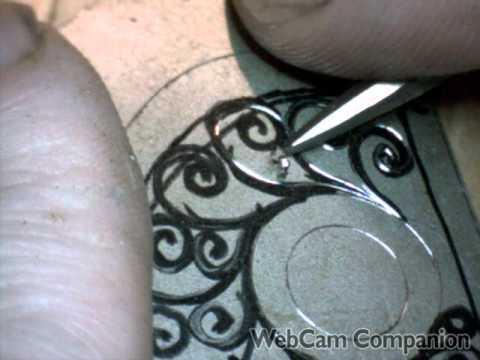 Engraving Guns School Gun Engraving Practice Hand
