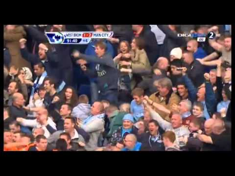 West Brom 1-2 Manchester City (Edin Džeko) 20/10/2012 All Goals anf Full Highlights VIDEO in HD