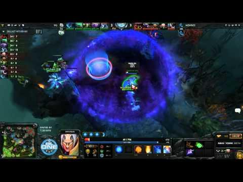 NewBee vs Vici Gaming Game 3  Grand Final ESL One CN Qualifier TobiWanDOTA  Clairvoyance