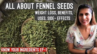 Fennel Seeds SuperFood For Weight Loss | सौंफ के फायदे | Hormonal Balance, Digestion | Ep -1