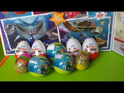 5 of 9  kinder surprise  eggs  . toy story . surprise ball . cool toys . jajko niespodzianka