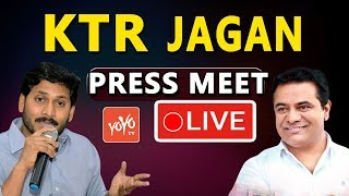KTR YS Jagan Press Meet LIVE | KCR Federal Front