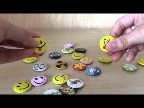 Самый доступный способ сделать крутые брелки и значки своими 12