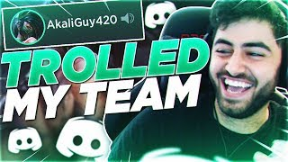 Yassuo | I TROLLED MY TEAM INTO THINKING I'M SOMEONE ELSE!!!
