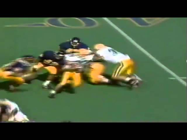 Oregon WR Brian Brown 15 yard catch vs. Cal 10-12-1991