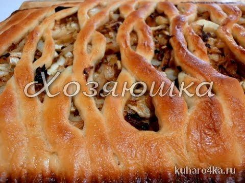 Красивый капустный пирог.flv