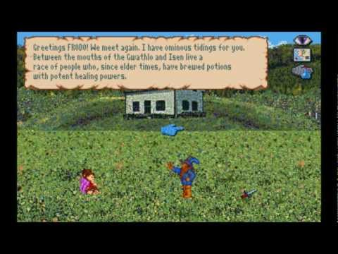 War in Middle Earth (MS-DOS) Intro und Gameplay