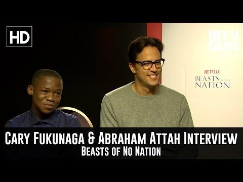 Director Cary Joji Fukunaga & Abraham Attah Interview - Beasts of No Nation