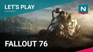 Let's Play Fallout 76! Playstation 4 gameplay.
