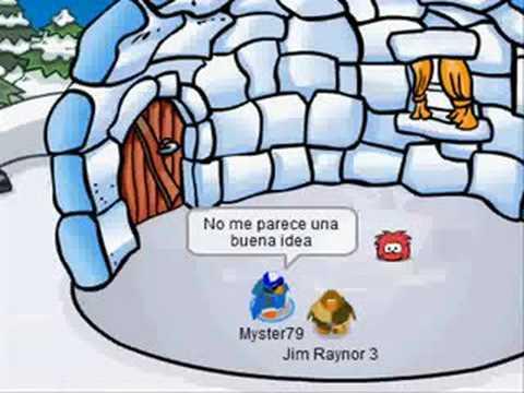 Robo en Club Penguin!