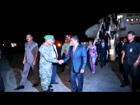 President concludes official visit to India and returns back to Maldives