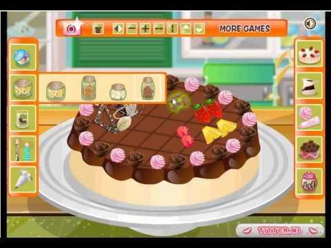 Sweet Cake Decoration - Cooking Games