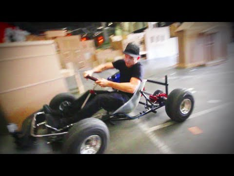 Cardboard Need for Speed (ft. Rob Dyrdek)